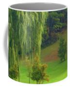 Trees Along Hill Coffee Mug