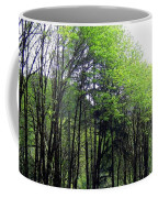 Trees Along The Umpqua River 2 Coffee Mug