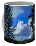 Trees And A Cloud For Crying Out Loud Coffee Mug