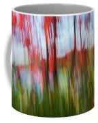 Trees And Lake Coffee Mug