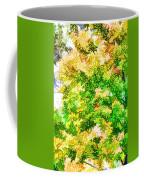 Trees And Leaves  Coffee Mug