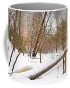 Trees And Snow Coffee Mug