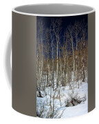 Trees And Something In The Snow Coffee Mug
