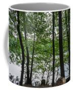 Trees At Lake Schlachtensee Coffee Mug