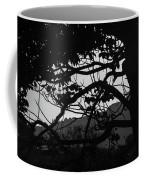 Trees Black And White - San Salvador Coffee Mug