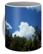 Trees, Clouds, And Sky Coffee Mug
