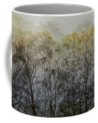 Trees Illuminated By Faint Sunshine, Double Exposed Image Coffee Mug by Nick Biemans