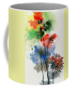 Trees In Colors Coffee Mug