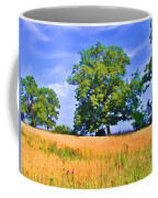 Trees In Field Coffee Mug