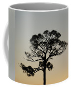 Trees In Sunset Coffee Mug