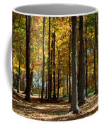 Tree's In The Forest Coffee Mug