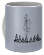 Trees In The Snow Coffee Mug