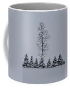 Trees In The Snow Coffee Mug