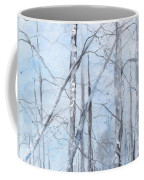 Trees In Winter Snow Coffee Mug