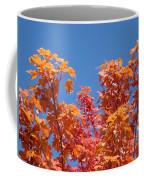 Trees Landscape Art Print Fall Tree Leaves Baslee Troutman Coffee Mug