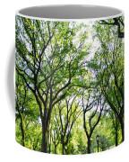 Trees Of Central Park, Nyc Coffee Mug