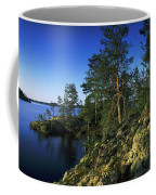 Trees On An Island In A Lake, Lake Coffee Mug
