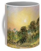 Trees On Hampstead Heath At Sunset Coffee Mug