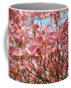 Trees Pink Spring Dogwood Flowers Baslee Troutman Coffee Mug