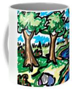 Trees W Water Ddl Coffee Mug