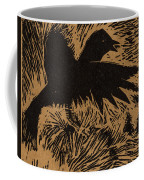 Treetop Crow Coffee Mug