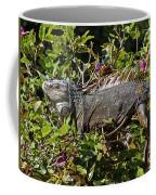 Treetop Iguana Coffee Mug