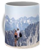 Trekking Together Coffee Mug
