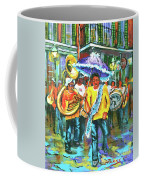 Treme Brass Band Coffee Mug