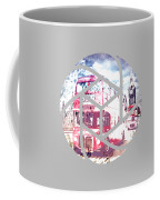 Trendy Design London Red Buses  Coffee Mug