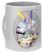 Trendy Design New York City Geometric Mix No 1 Coffee Mug by Melanie Viola