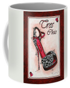 Tres Chic By Madart Coffee Mug