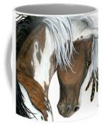 Tri Colored Pinto Horse Coffee Mug