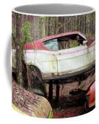 Tri Stack Old Car Image Art Coffee Mug by Jo Ann Tomaselli