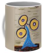 Triangular Blue Coffee Mug