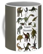 Triassic Dinosaurs Coffee Mug