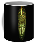 Tribal Mask Coffee Mug by David Dehner