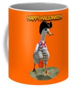 Trick Or Treat For Cap'n Duck Coffee Mug