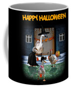 Trick Or Treat Time For Little Ducks Coffee Mug