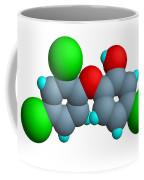Triclosan Molecule Coffee Mug