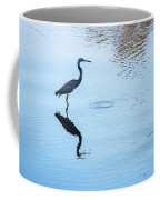Tricolored Heron Silhouette Coffee Mug