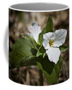 Trillium Grandiflorum Coffee Mug