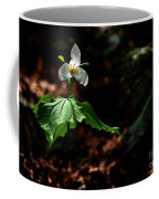 Trillium In The Woods Coffee Mug