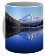 Trillium Lake With Reflection Of Mount Coffee Mug