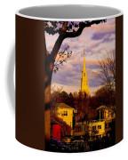Trinity Church Spring Sunset Coffee Mug