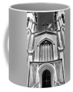Trinity Episcopal Cathedral Black And White Coffee Mug