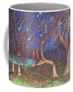 Trinity Tree By Moonlight Coffee Mug