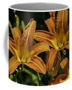 Trio Of Orange Tiger Lilies Coffee Mug
