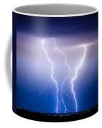 Triple Lightning Coffee Mug by James BO  Insogna