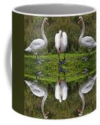 Triplets In Reflection Coffee Mug