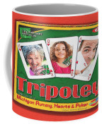 Tripoley Board Game Painting Coffee Mug